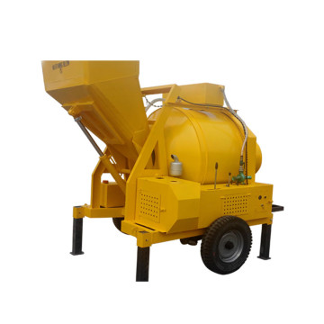 Portable new 350l diesel small drum concrete mixer