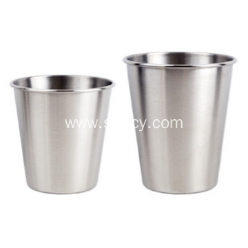 304 Stainless Steel Single Layer High Quality Cup