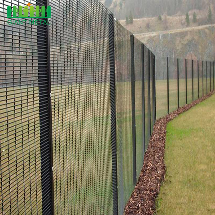 High Security 358 Anti-Climb Fence