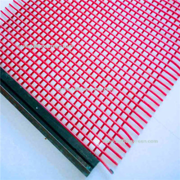 Fusion Welded Polyurethane Vibrating Screen Mesh