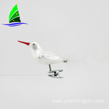 Professional Christmas Glass Bird Ornaments