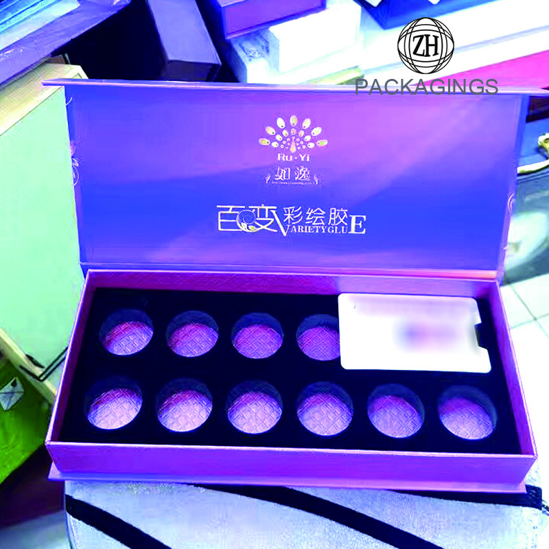 High end customized magnetic packaging box