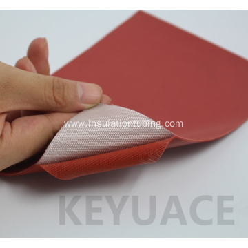 Fiberglass Insulation Silicon Rubber Coated Glassfiber Cloth