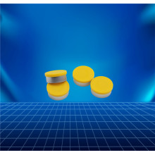 OEM manufacturer custom for Aluminium Cap For Infusion Bottle yellow aluminium and plastic cap for vial supply to Colombia Supplier