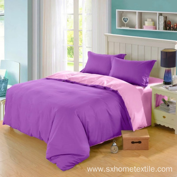 microfiber solid bedding sets