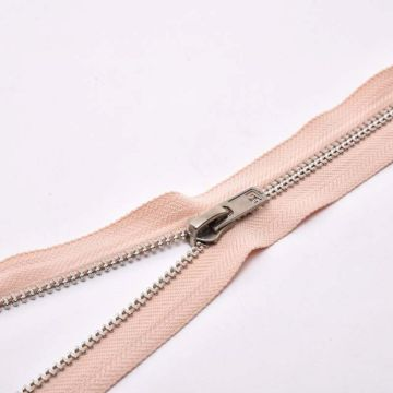 2 Way brass zipper for clothing