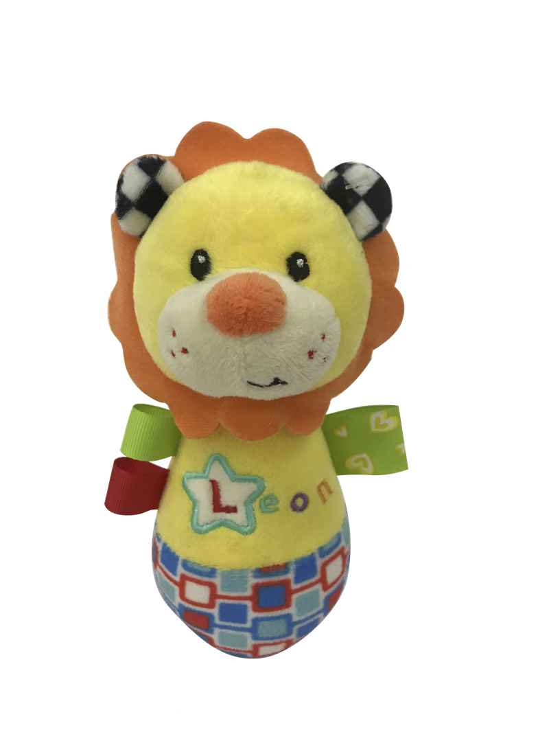 Lion Rattle Baby Toy