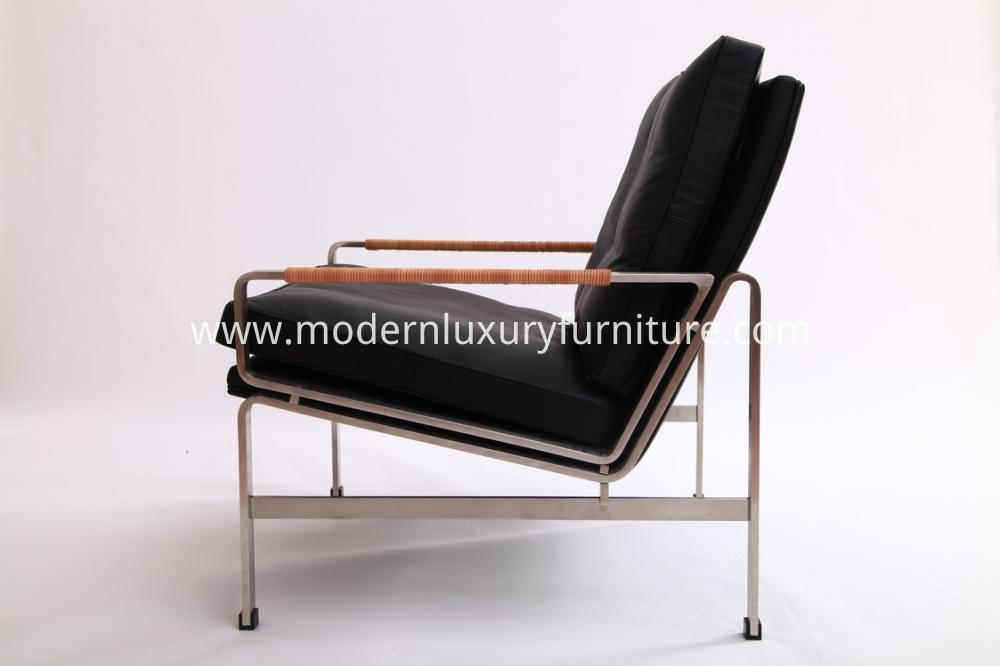 Leather Replica Fk6720 Lounge Chairs