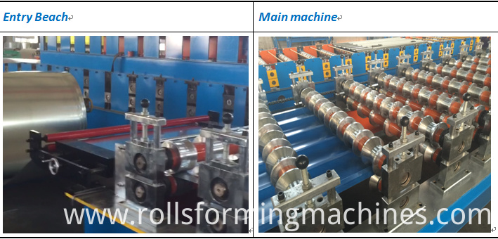 glazed tile rool forming machine 2