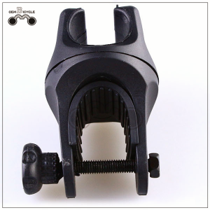 Mountain bike lamp holder 360-degree rotating black lamp clip