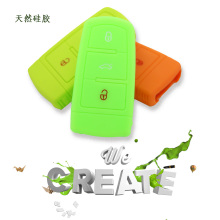 New Fashion Design for for Supply Volkswagen Silicone Key Cover, VW Silicone Key Fob Cover, VW Silicone Key Case from China Manufacturer Key case holder cover for vw cc export to Indonesia Manufacturer