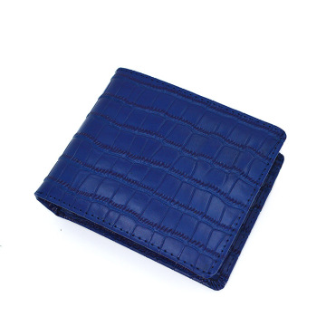 High Quality Genuine Crocodile Leather Wallet for Men