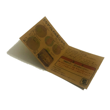 Supply for Clothing Hang Tags Colored folded kraft hang tags export to Haiti Manufacturer