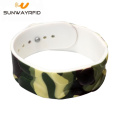 Professional Customized printing 13.56MHz S50 RFID Wristband