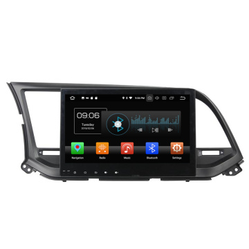Oreo 8.0 car dvd player per Elantra 2016