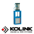 Pneumatic Square Guillotine Valve