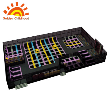 Center children professional ball trampolines park