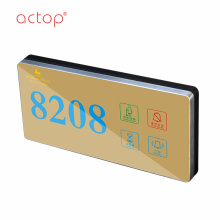 Special for China Hotel Ding Dong Doorbell,Door Bell Switch Hotel Doorbell,Hotel Room Number Signs Doorplate Factory magnetic  stainless steel door kick plate supply to United States Factories