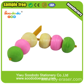 Meatballs Shaped Eraser ,Stationery Rubber Puzzle eraser