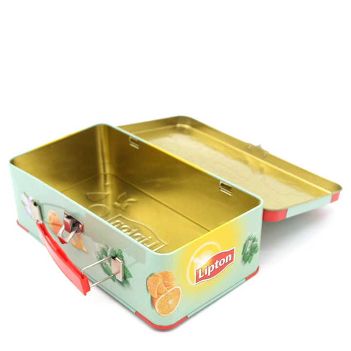 Exquisite tin box lunch box Food packaging box