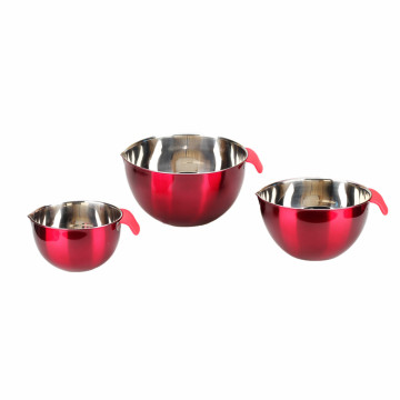 Food Grade Stainless Steel Mixing Bowl Set