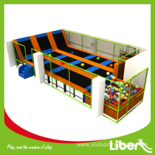 10 Years manufacturer for Indoor Trampoline Equipment ASTM Approved High Quality Indoor Toddler Trampoline export to Gabon Manufacturer