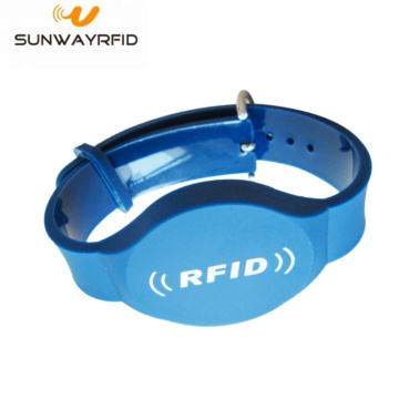 PVC T5577 RFID Wristbands Smart Strap with Chip