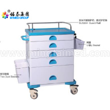 Medication anesthetic vehicles cart
