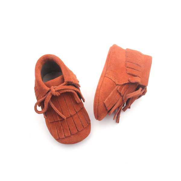 Fashion Leather Baby Boots Moccasins