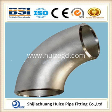 Stainless steel reducing pipe elbow