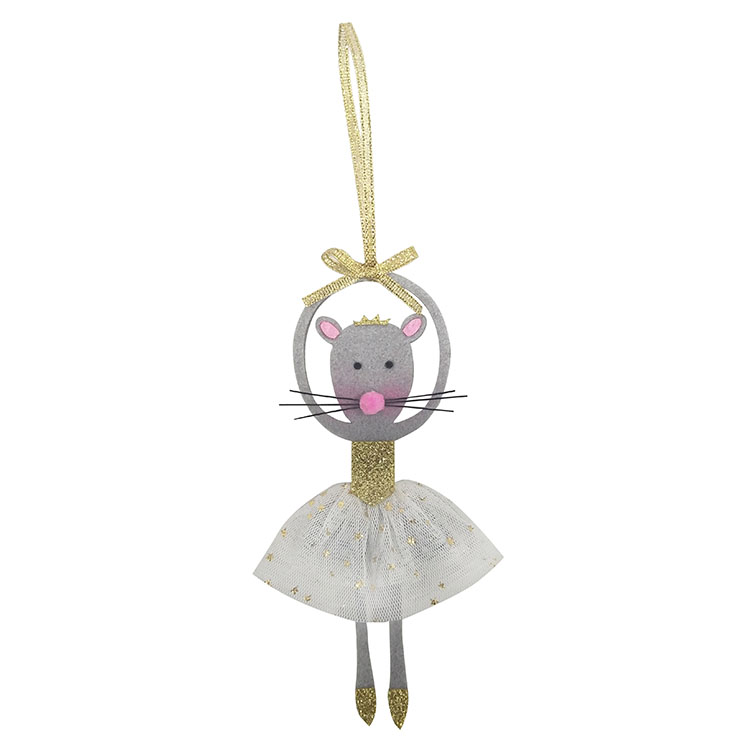 Christmas Dancing Rat Pendant