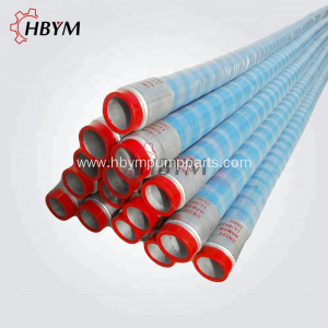 Flexible DN100 4M Concrete Pump Rubber Hose