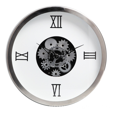 Living roon round decorative wall clock