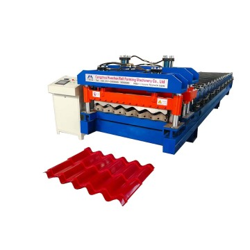 Metal Glazed Roof Sheet single Layer Forming Machine