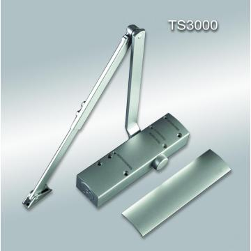 Commercial automatic glass sliding door closer