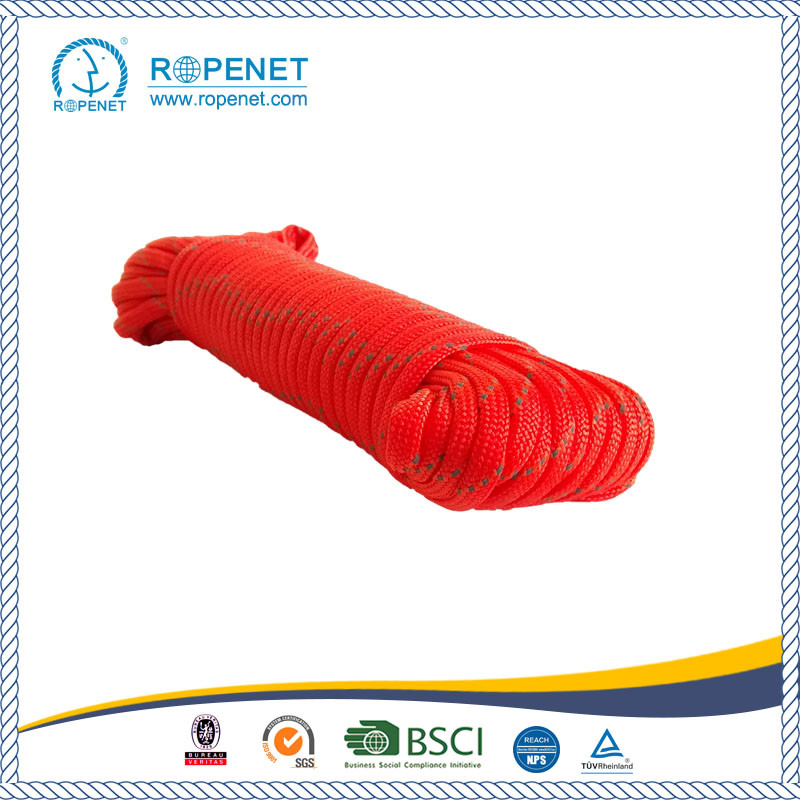 Military Nylon Rope With a Reflective Line