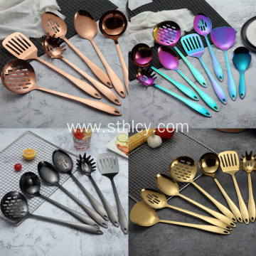 Titanium Plating Series Stainless Steel Kitchen Set