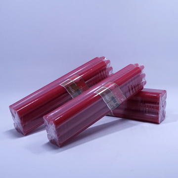 Red Colour Parafin Wax Stick Candles