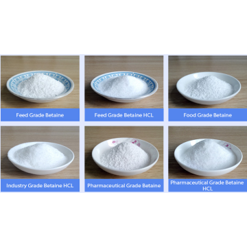 Livestock Feed Additives Betaine Anhydrous 98% In Crystal