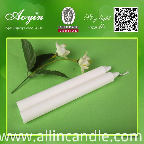 WHITE CANDLE036