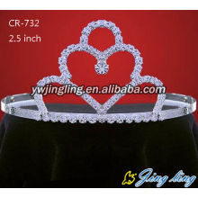 Rhinestone Crowns Cheap Tiaras CR-732