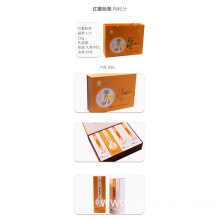 Top quality sweet potato powder strips carrot juice gift box