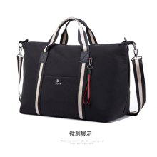 New fashion simple stripe waterproof travel bag