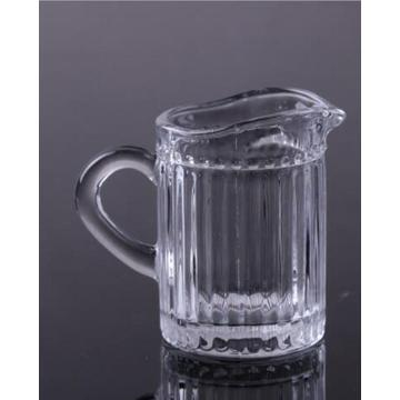 Clear Glass Milk Glass Cup For Home Decoration