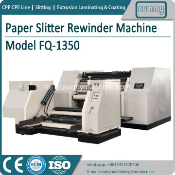 Paper Slitting Rewinder Machine