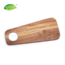 Creative Acacia Wood Steak Board With Hanging Hole