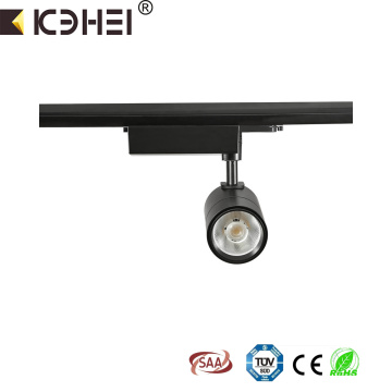 25W commercial 6000K 2wire LED adjustable tracklight