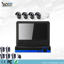 "4CH 1080P WiFi NVR Kits with 10.1"" Screen"