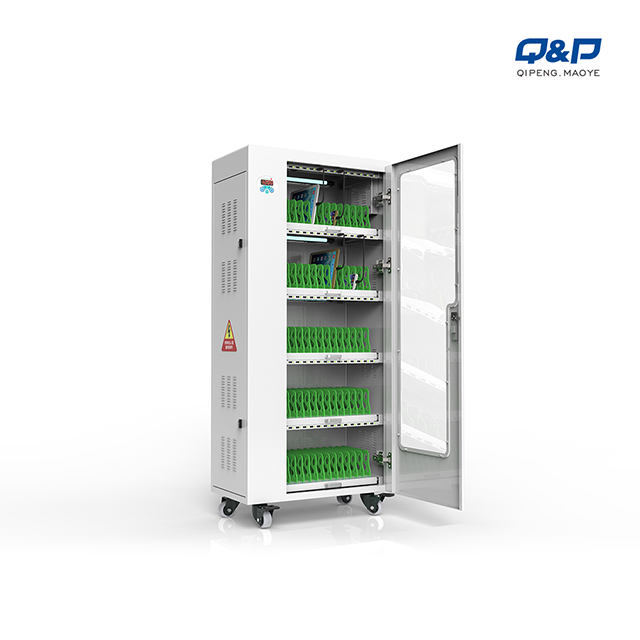 65 USB port iPad charging carts for schools