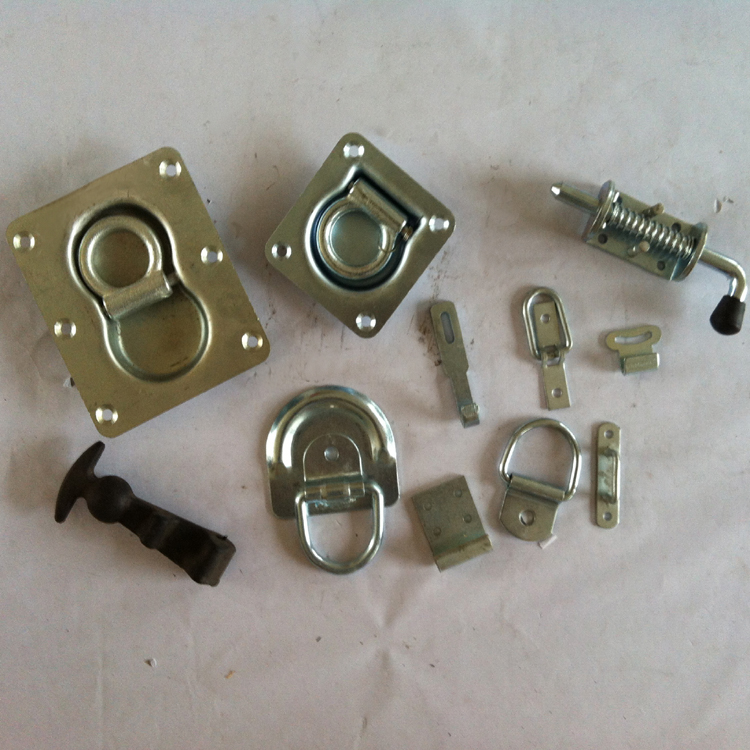 Lashing Ring and Spring Loaded Latch Bolt